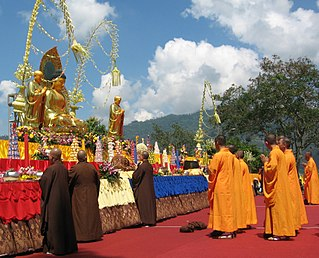 Vesak Buddhist festival marking the birth of the Buddha