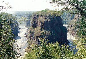 Image:Victoria Falls gorge1
