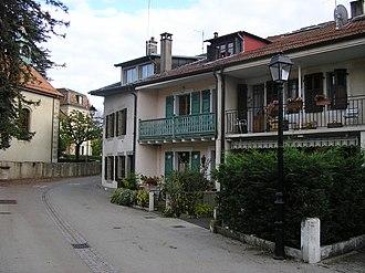 Onex, Switzerland - Image: Vieil Onex 2