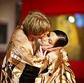 Vienna State Ballet dancers Maria Yakovleva and Kirill Kourlaev - Belvedere, Vienna - 1 January 2012.jpg