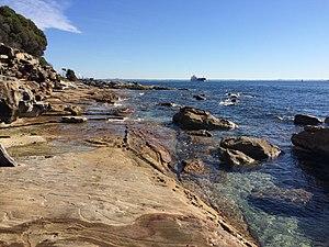 Kamay Botany Bay National Park - A view across Botany Bay from Inscription Point.