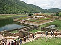 View from Amer fort - lake and garden.jpg