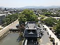 View from Tenshu of Nakatsu Castle (south) 2.jpg