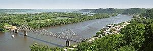 Wisconsin Highway 82 - Image: View mt hosmer