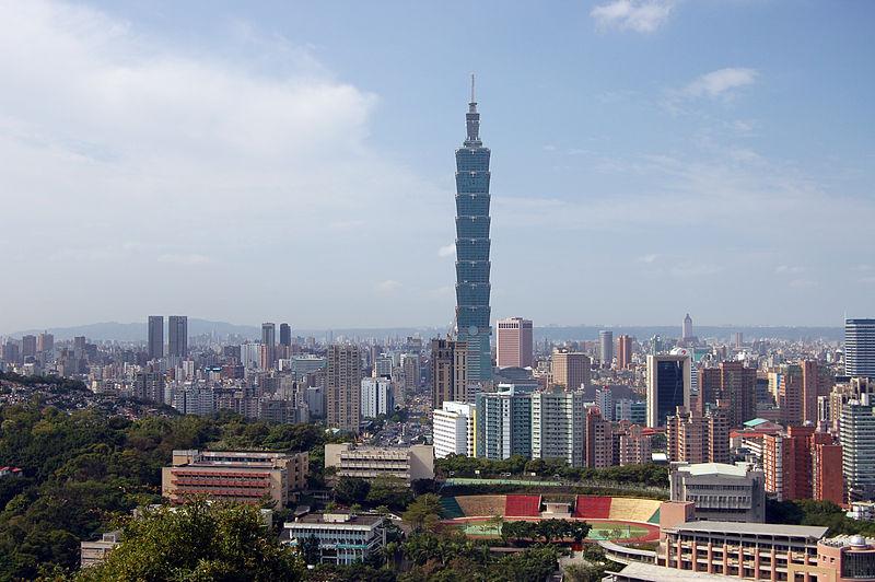 File:View of Taipei 101 From Tiger Peak, Taiwan (5234578927).jpg