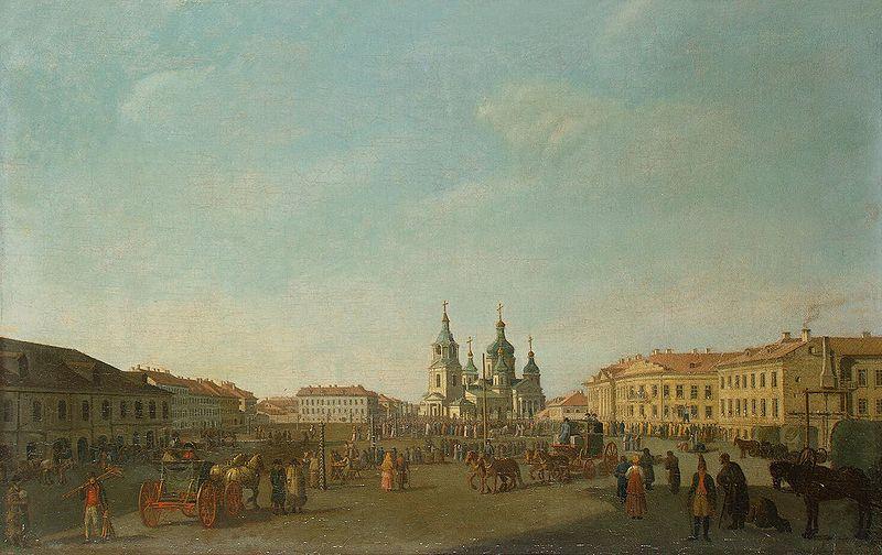 File:View of the Sennaya Square in Petersburg.jpg