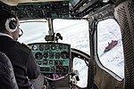 """View of the nuclear icebreaker """"50 Years of Victory"""" from a Konvers Avia Mil Mi-2.jpg"""