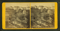 View of town with dam in foreground, churches, homes, other buildings, from Robert N. Dennis collection of stereoscopic views 2.png