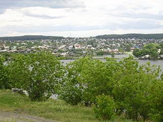 Rezh Town in Sverdlovsk Oblast, Russia