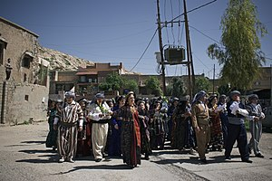 Views of the 2018 Palm Sunday festival in the Chaldean Catholic town of alQosh 37.jpg