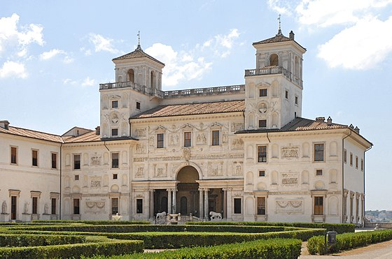 The Villa Medici as it looks today. Villa Medici Roma 01.jpg