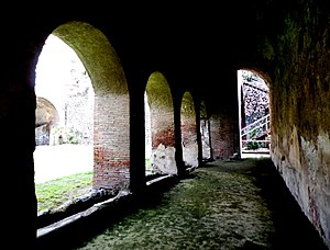 Villa Romana, Minori - The arcades of the villa