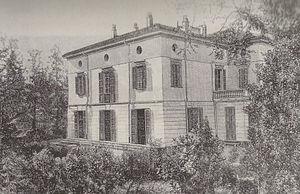 Villa Verdi - Villa Verdi as it looked in 1859—1865.