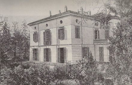 Villa Verdi at Sant'Agata, as it looked between 1859 and 1865 Villa Verdi at Sant'Agata-1859-65.jpg