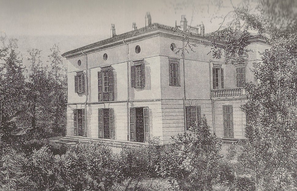 Villa Verdi at Sant%27Agata-1859-65