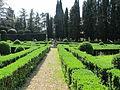 Villa schifanoia, giardino, terza terrazza 03.JPG