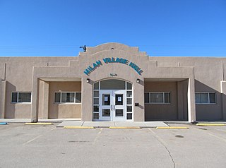 Milan, New Mexico Village in New Mexico, United States