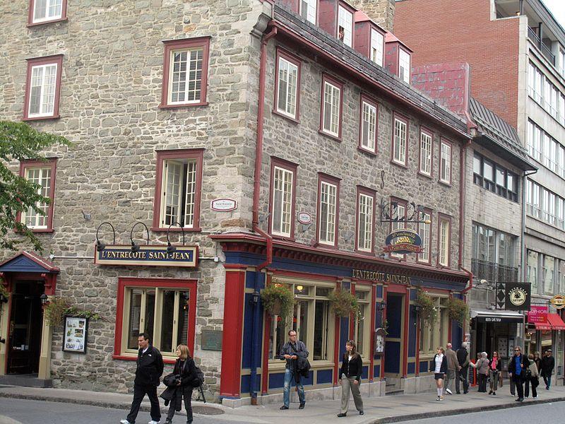 onde almoçar em Quebec City