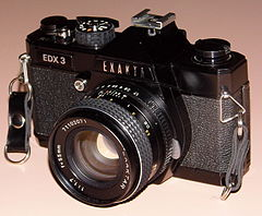 Vintage Exakta 35mm SLR Film Camera, Model EDX 3, Made In Japan (15958319152).jpg