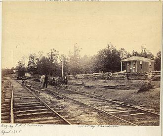 Southside Railroad (Virginia) - Appomattox Station 1865