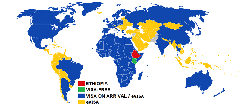 Visa Policy Of Ethiopia Wikipedia