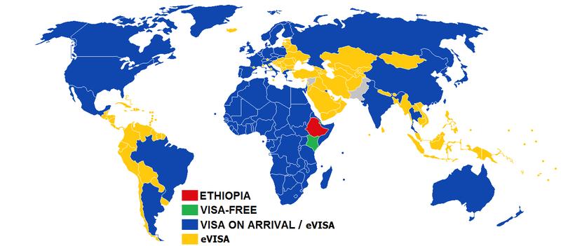 Visa policy of Ethiopia - Wikiwand