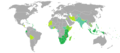 Visa requirements for Malawian citizens.png