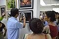 Visitors At Inaugural Day - 45th PAD Group Exhibition - Kolkata 2019-06-01 1267.JPG