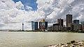 Vista de los casinos desde el Centro de Ciencia, Macao, 2013-08-08, DD 02.jpg