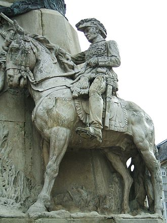 Miguel Ricardo de Álava - Equestrian statue of the General in the Monument to the Battle of Vitoria (1813), Vitoria, Spain