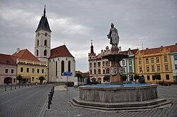 Vodňany-náměstí2009.jpg