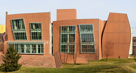 Vontz Center for Molecular Studies, designed by Frank Gehry in conjunction with BHDP Architecture, is part of the medical campus. VontzCenter.jpg