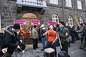 Icelandic financial crisis protesters