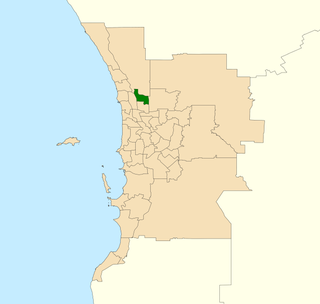Electoral district of Landsdale State electoral district of Perth, Western Australia