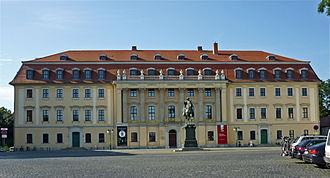 Landtag of Thuringia - Former Thuringian Landtag (Fürstenhaus) in Weimar