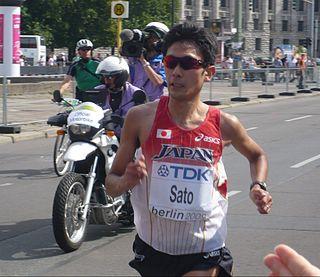 Atsushi Sato Japanese long-distance runner