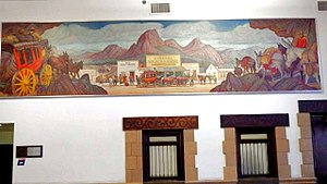 United States Post Office (Phoenix, Arizona) - Communication During the Period of Exploration by Oscar Berninghaus