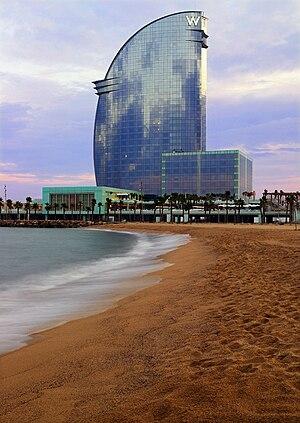 Ricardo Bofill - Image: W Barcelona by Ricardo Bofill