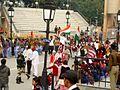 WagahBorderPostintheIndoPakistaninternationalbordercrossing 19.jpg