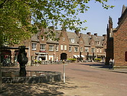 Market Square in Wageningen