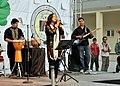 Wajiha Rastagar performing for members of ANCOP in 2010.jpg