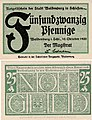 Waldenburg i.Schles. - 25Pf. 1920 grün.jpg