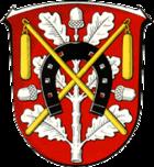Coat of arms of the city of Mörfelden-Walldorf