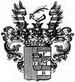 Wappen der Reichsgrafen Czernin von und zu Chudenitz 1623.jpg