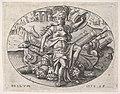 War- Bellona sits on a trophy of arms (La Guerre- Bellone assise sur un trophée d'armes) MET DP834101.jpg