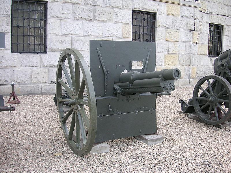 الحرب ال - الحرب العالميه الاولى 800px-Warsaw_Canon_de_75_modele_1912_Schneider_1