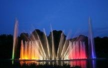 Hamburg-Parks and gardens-Wasserlichtkonzert 3