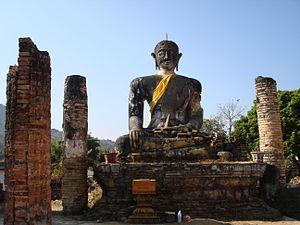 Muang Phuan - Ruins of Wat Piawat,  Khoune District