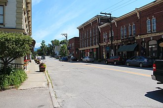 Waterbury, Vermont - Downtown Waterbury