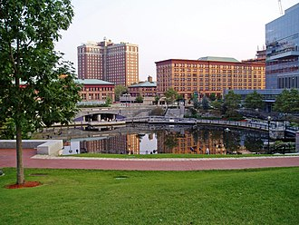Waterplace Park - Image: Waterplacepark
